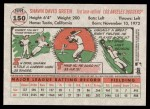2005 Topps Heritage #150  Shawn Green  Back Thumbnail