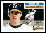2005 Topps Heritage #185  Barry Zito  Front Thumbnail