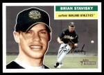 2005 Topps Heritage #64  Brian Stavisky  Front Thumbnail