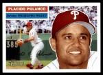 2005 Topps Heritage #117  Placido Polanco  Front Thumbnail