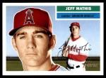 2005 Topps Heritage #112  Jeff Mathis  Front Thumbnail