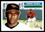 2005 Topps Heritage #15  Miguel Tejada  Front Thumbnail