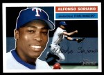 2005 Topps Heritage #3 FLD Alfonso Soriano  Front Thumbnail