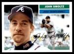 2005 Topps Heritage #10  John Smoltz  Front Thumbnail