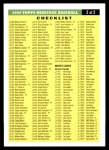 2005 Topps Heritage #0   Checklist 2 of 2  Front Thumbnail