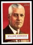 2005 Topps Heritage #1  Will Harridge  Front Thumbnail