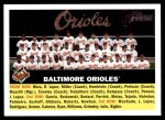 2005 Topps Heritage #100   Baltimore Orioles Team Front Thumbnail