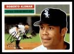 2005 Topps Heritage #131  Roberto Alomar  Front Thumbnail
