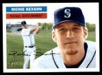 2005 Topps Heritage #52  Richie Sexson  Front Thumbnail