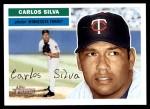 2005 Topps Heritage #178  Carlos Silva  Front Thumbnail