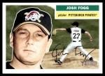 2005 Topps Heritage #159  Josh Fogg  Front Thumbnail
