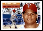 2005 Topps Heritage #120  Bobby Abreu  Front Thumbnail