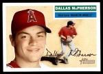 2005 Topps Heritage #122  Dallas McPherson  Front Thumbnail