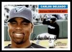 2005 Topps Heritage #75  Carlos Delgado  Front Thumbnail