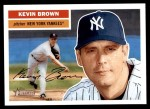 2005 Topps Heritage #161  Kevin Brown  Front Thumbnail