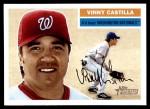 2005 Topps Heritage #139  Vinny Castilla  Front Thumbnail