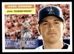 2005 Topps Heritage #192  Jason Jennings  Front Thumbnail