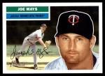 2005 Topps Heritage #197  Joe Mays  Front Thumbnail