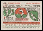 2005 Topps Heritage #128  Tom Goodwin  Back Thumbnail