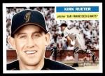 2005 Topps Heritage #43  Kirk Rueter  Front Thumbnail