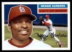 2005 Topps Heritage #42  Reggie Sanders  Front Thumbnail