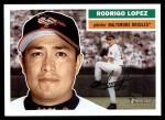 2005 Topps Heritage #123  Rodrigo Lopez  Front Thumbnail
