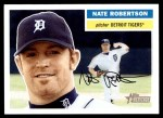 2005 Topps Heritage #136  Nate Robertson  Front Thumbnail