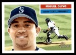 2005 Topps Heritage #77  Miguel Olivo  Front Thumbnail