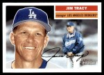 2005 Topps Heritage #8  Jim Tracy  Front Thumbnail