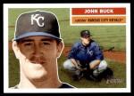 2005 Topps Heritage #132  John Buck  Front Thumbnail