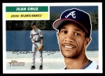 2005 Topps Heritage #53  Juan Cruz  Front Thumbnail