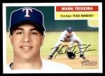 2005 Topps Heritage #169  Mark Teixeira  Front Thumbnail