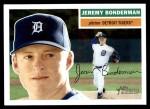 2005 Topps Heritage #191  Jeremy Bonderman  Front Thumbnail