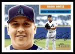 2005 Topps Heritage #115  Russ Ortiz  Front Thumbnail