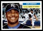 2005 Topps Heritage #195  Ken Harvey  Front Thumbnail