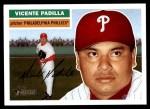 2005 Topps Heritage #147  Vicente Padilla  Front Thumbnail