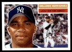 2005 Topps Heritage #154  Orlando Hernandez  Front Thumbnail