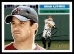 2005 Topps Heritage #22  Brad Ausmus  Front Thumbnail