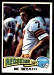 1975 Topps #416  Joe Theismann  Front Thumbnail