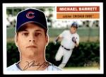 2005 Topps Heritage #390  Michael Barrett  Front Thumbnail
