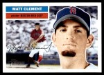 2005 Topps Heritage #308  Matt Clement  Front Thumbnail