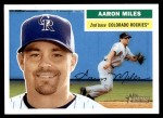 2005 Topps Heritage #239  Aaron Miles  Front Thumbnail