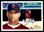 2005 Topps Heritage #396  Kevin West  Front Thumbnail
