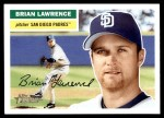 2005 Topps Heritage #241  Brian Lawrence  Front Thumbnail