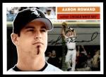 2005 Topps Heritage #321  Aaron Rowand  Front Thumbnail