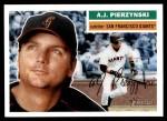 2005 Topps Heritage #242  A.J. Pierzynski  Front Thumbnail