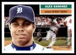 2005 Topps Heritage #316  Alex Sanchez  Front Thumbnail