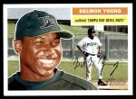 2005 Topps Heritage #374  Delmon Young  Front Thumbnail