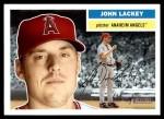 2005 Topps Heritage #382  John Lackey  Front Thumbnail