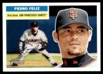 2005 Topps Heritage #256  Pedro Feliz  Front Thumbnail